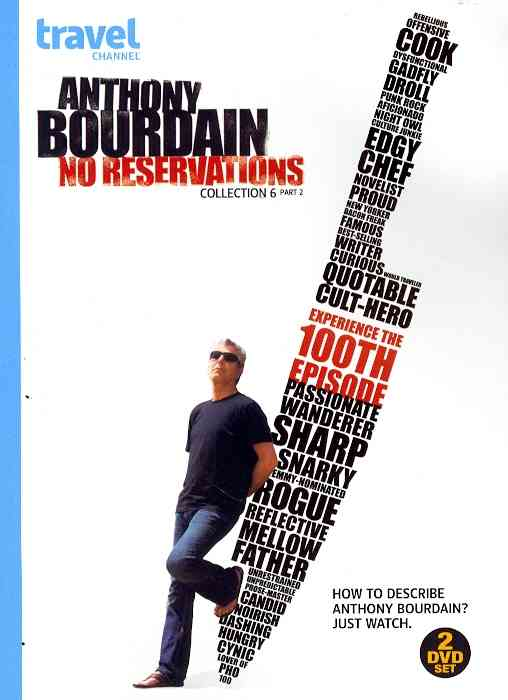 ANTHONY BOURDAIN:NO RESER COLL 6 PT 2 BY ANTHONY BOURDAIN: NO (DVD)